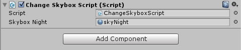How to change reflection skybox from script in Unity 5 | Igor's Games